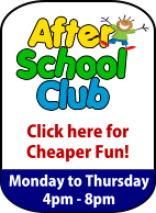 Click here for After School Club discounts!