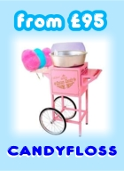 Candyfloss machine hire
